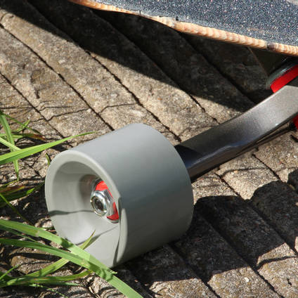 Dust Grey Pigmented Skateboard Wheel